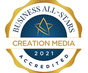 Creation Media Delighted To Receive Business All Star
